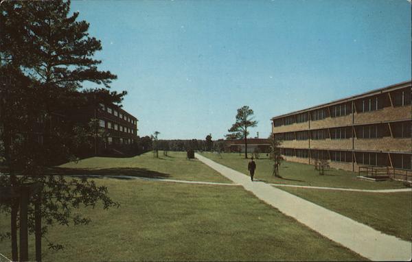 new barracks fort jackson  sc postcard