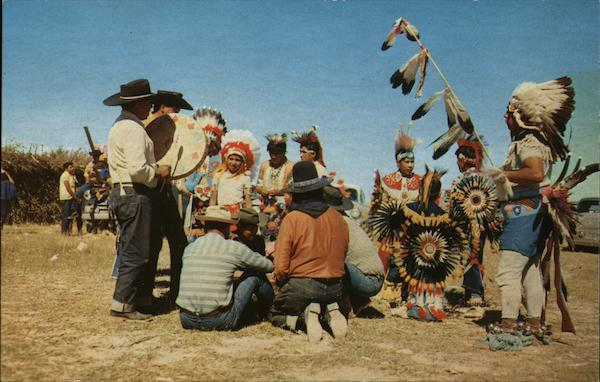 Turkey Dance of the Ute Indians Native Americana