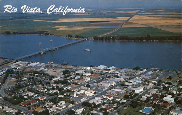 Aerial View Rio Vista California