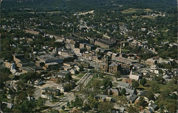 Aerial View Claremont New Hampshire Don Sieburg
