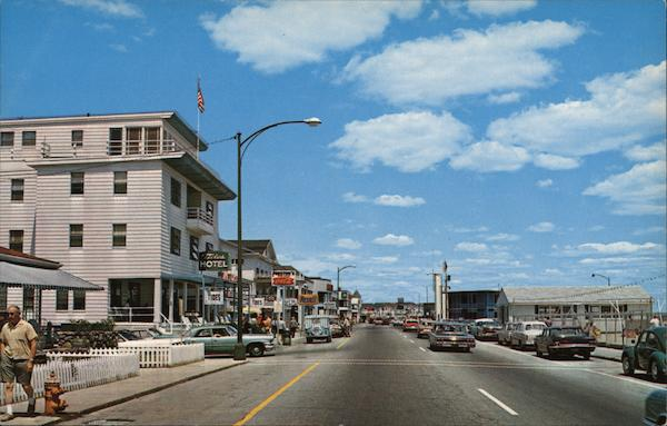Ocean Boulevard Hampton Beach New Hampshire
