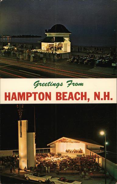 Greetings From Hampton Beach New Hampshire Carleton Allen