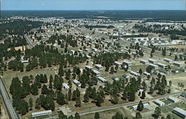 Aerial View Fort Polk Louisiana