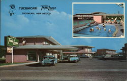 Tucumcari TraveLodge Postcard