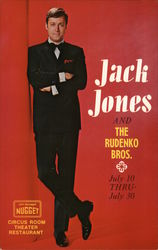 Jack Jones and the Rudenko Bros., Nugget Casino Postcard