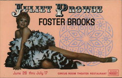 Juliet Prowse - Foster Brooks - June 26 thru July 17