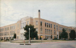 Muscatine High School and Auditorium