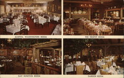 The Wagon Wheel - Martha Washington Room, The Trophy Room, Gay Nineties Room, Garden Room