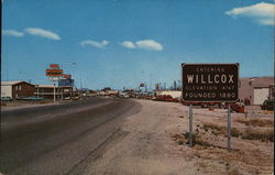 Entering Willcox