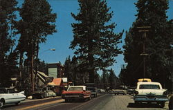 Tahoe City, California Postcard