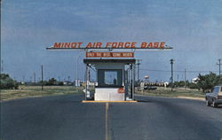 Minot Airforce Base South Gate
