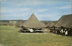 Tents at Camp Grayling