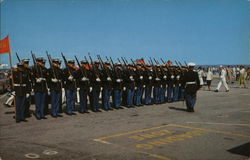 Marine Color Guard, Quonset Point Navel Air Station