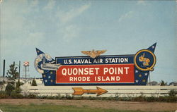 Entrance to U.S. Naval Air Station Quonset Point