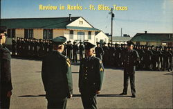 Review in Ranks, Recruit Training Program
