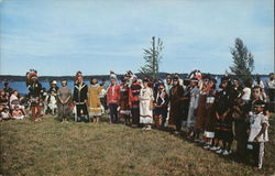 A Group of Passamaquoddy Indian Dancers