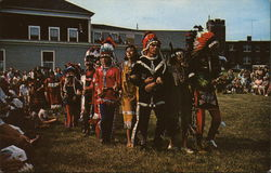 Snake Dance, as done by the Passamaquaddy Indians