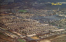 Aerial View of Fort Ord