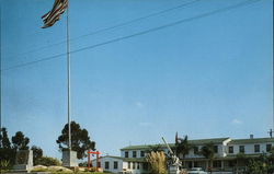 The Headquarters of the 1st Marine Division Postcard