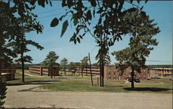 New Housing Billets Fort Jackson, SC Postcard