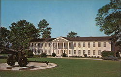 Post Headquarters Fort Jackson, SC Postcard