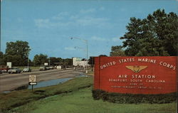 Marine Air Station Entrance