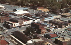 Portion of Central Business District Postcard