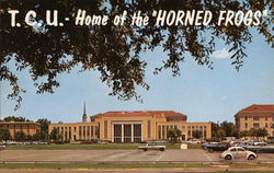 Brown-Lupton Student Center, Texas Christian University Postcard