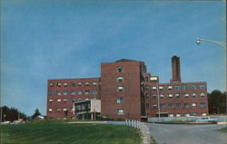 The New Concord Hospital Postcard