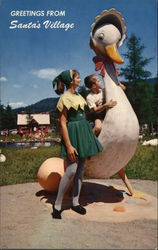 Statue of Giant Mother Goose