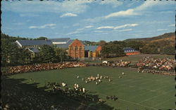 Memorial Field and College Gymnasium