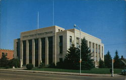 Gallatin County Courthouse Postcard