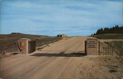 Entrance to Custer Battlefield National Monument