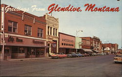 Downtown Glendive