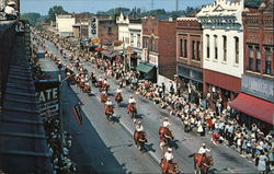 Tri-State Championship Rodeo Parade Postcard