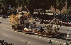 Oddfellows and Rebekah's 1984 Rose Parade Float