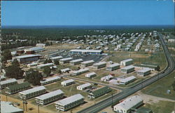 Aerial View of Fort Polk