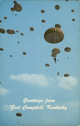Greetings from Ft. Campbell Postcard