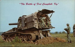Eight Inch Self-Propelled Howitzer Postcard