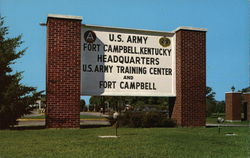 Fort Campbell Ky. Headquarters