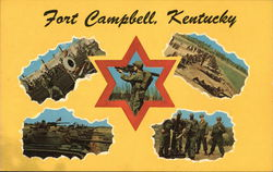 Views of Fort Campbell Postcard