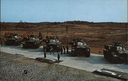 Tanks in Training on Boydston Range