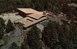 Aerial View of the Visitor Center, Mount Rushmore National Memorial