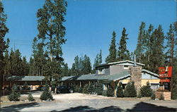 Flying-L Motel Postcard