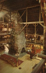 Old Faithful Inn Lobby, Yellowstone National Park