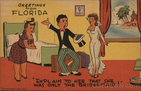 Explain To Her That She Was One Of The Bridesmaids! Florida
