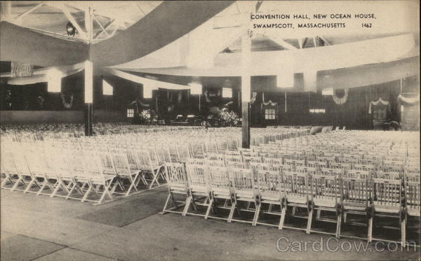 Convention Hall at New Ocean House Swampscott Massachusetts