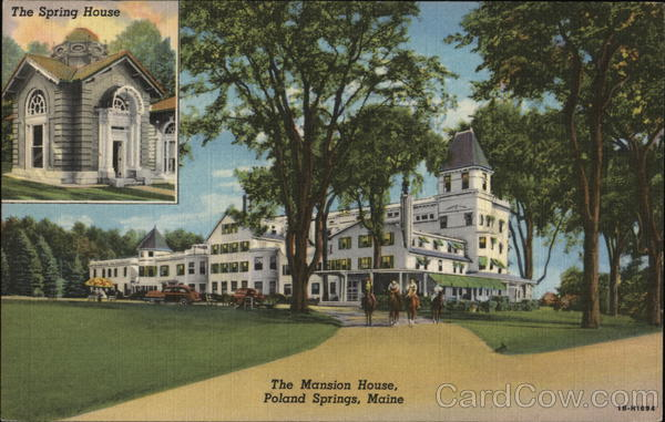 The Mansion House Poland Spring Maine