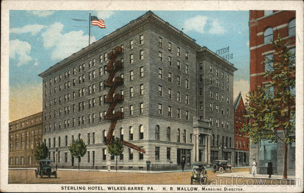 Sterling Hotel Wilkes-Barre Pennsylvania