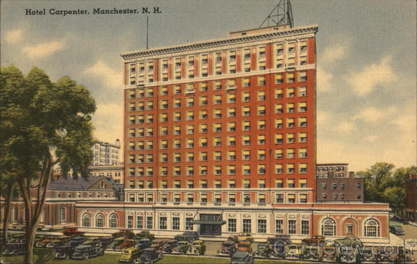 Hotel Carpenter Manchester New Hampshire